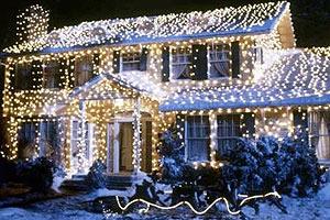 rudolph santa co es leuchtet und blinkt im garten. Black Bedroom Furniture Sets. Home Design Ideas