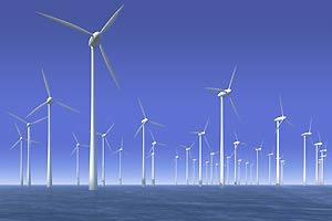 Windkraftanlagen im meer
