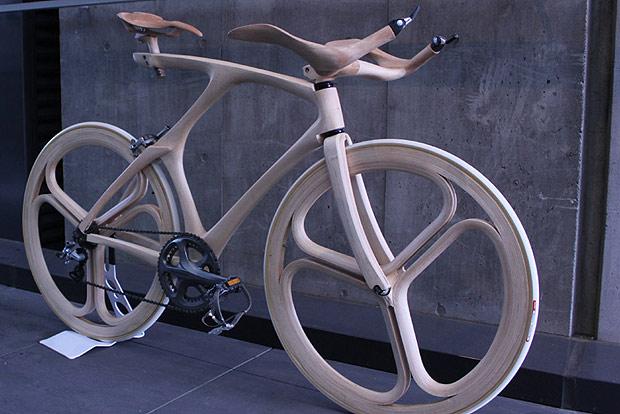 Flexibel und best ndig das rad aus holz energieleben for Fahrrad minimalistisch