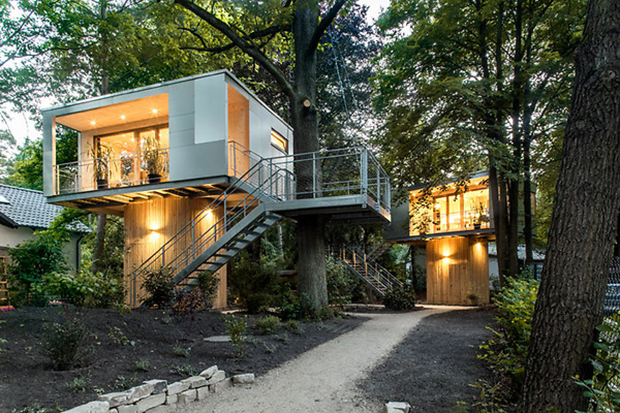 Baumhaus Architekturbüro zwischen stadt und natur urbane baumhäuser in berlin energieleben