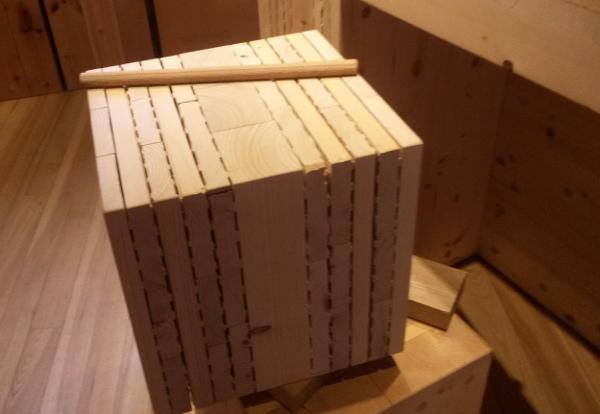 Holz100 Wandaufbau