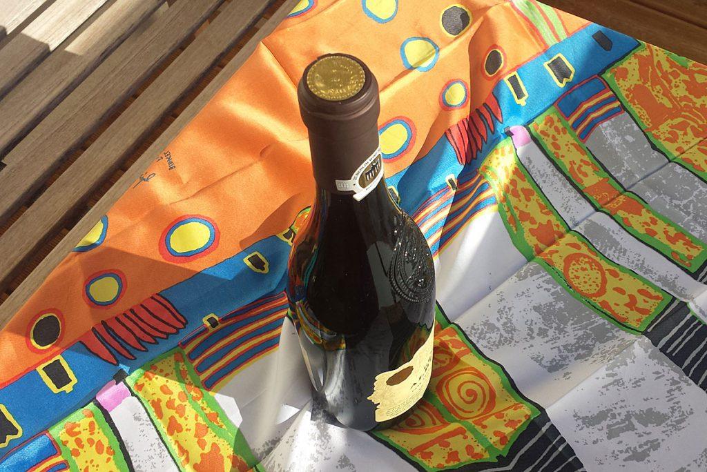 3. Flasche verpacken