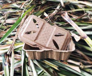 Verpackung Pflanzenabfälle