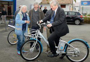 Alpha 2.0 Wasserstoff-Fahrrad