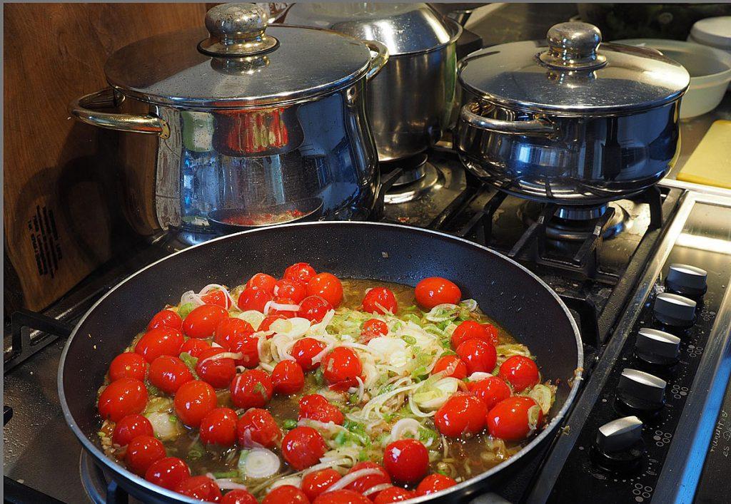 1. Größere Mengen vorkochen